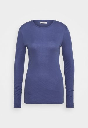 MONA - Long sleeved top - gray blue