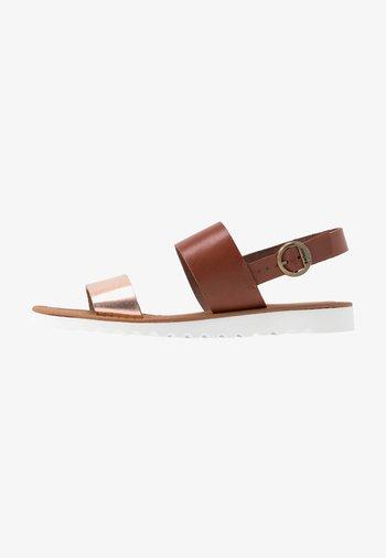 MIA - Sandals - tan/rose gold