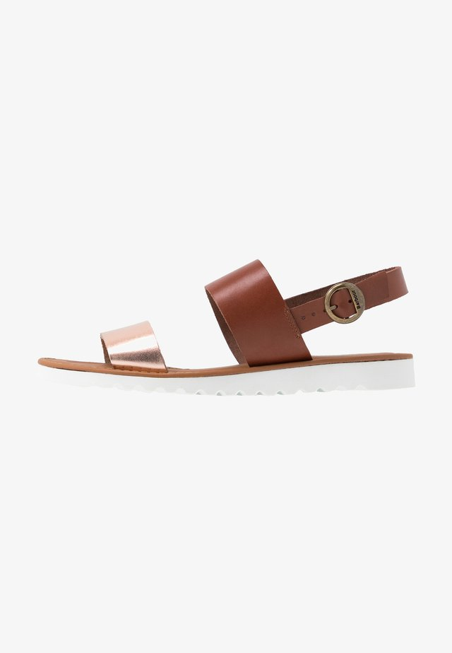 MIA - Sandalen - tan/rose gold