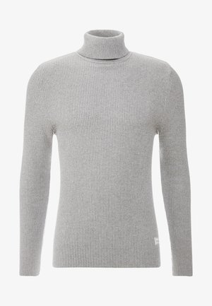 Sweter - mottled grey
