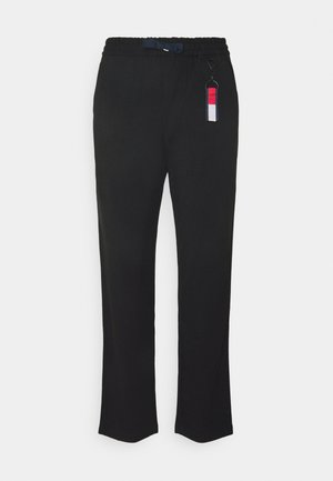 SOLID PANT - Trousers - black