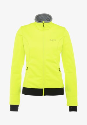 THERMO  - Softshelljacka - neon yellow/black