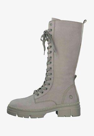 Boots - taupe nub uni