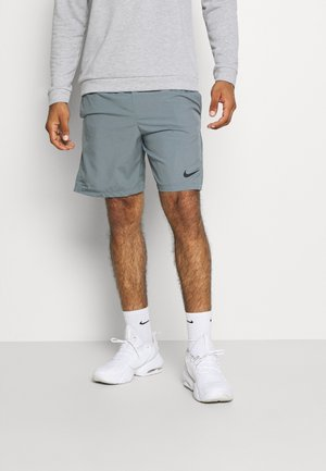 kurze Sporthose - smoke grey/black
