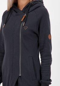 alife & kickin - Zip-up hoodie - moonless - 4