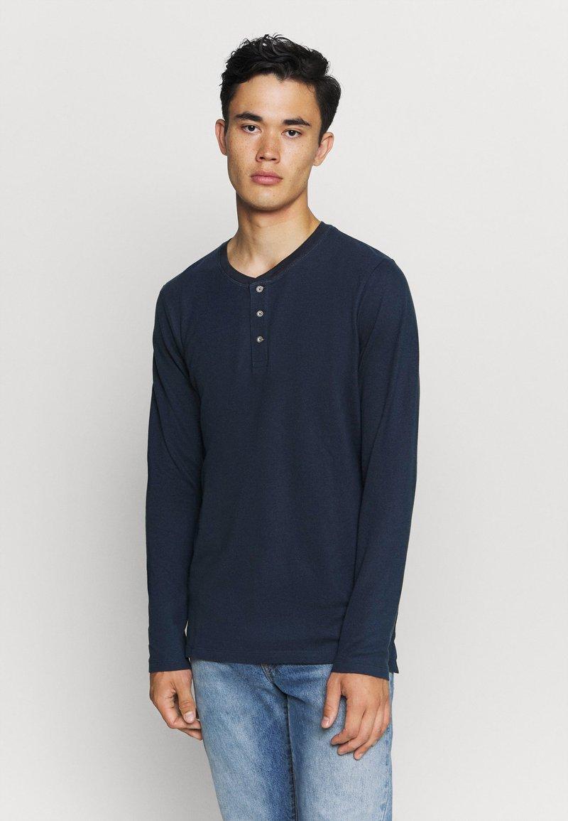 Jack & Jones - JJEJEANS NOOS - T-shirt à manches longues - navy