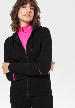 ERLA - veste en sweat zippée - schwarz