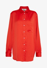 Mulberry - ADELINE BLOUSE - Button-down blouse - bride red - 5