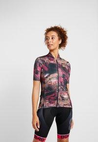 Craft - HALE GRAPHIC  - Print T-shirt - fame - 0