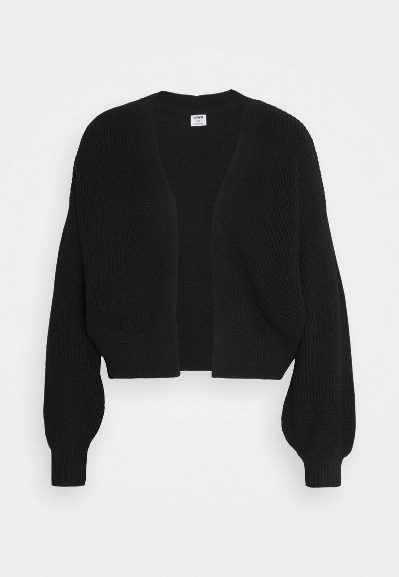 Cotton On - ARCHY SUMMER CARDI - Cardigan - black