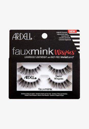 FAUX MINK DEMI WISPIES TWIN PACK - False eyelashes - -