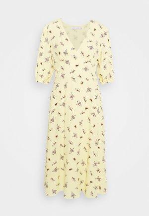 CINDY DRESS - Robe d'été - yellow/multi