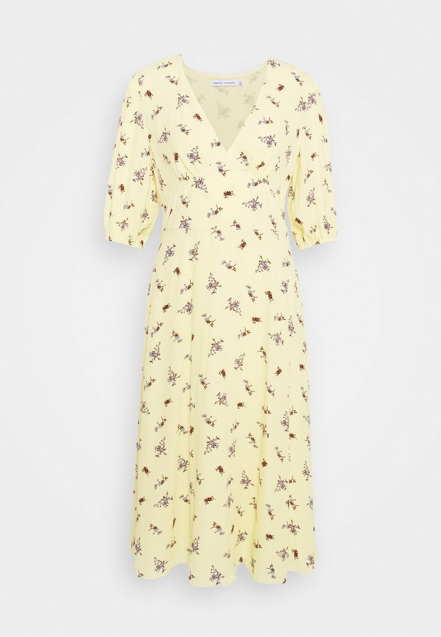 CINDY DRESS - Robe d'été - yellow/multi