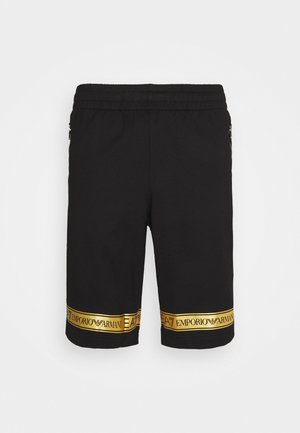 Shorts - black/gold-colored