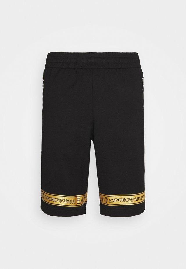 Short - black/gold-colored