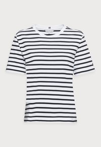 COOL RELAXED TOP - Camiseta estampada - blue