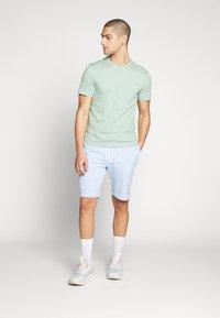 Calvin Klein - GARMENT FRONT LOGO - Verryttelyhousut - blue - 1