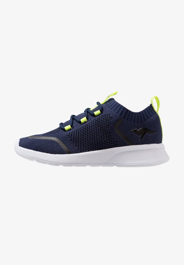KF WEAVE - Trainers - dark navy/lime