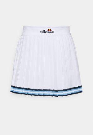 SKATE SKIRT - Mini skirt - white