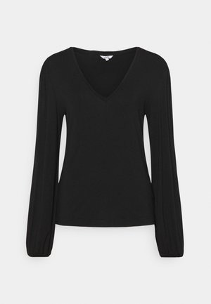 CHANTELL - Long sleeved top - black