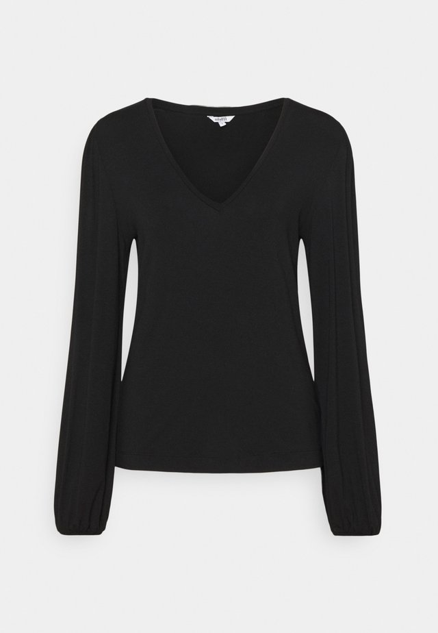 CHANTELL - T-shirt à manches longues - black