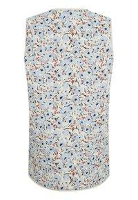 Soaked in Luxury - Waistcoat - blue peonia print - 4