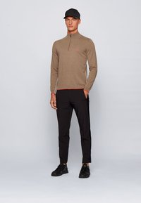 BOSS - ZISTON_W20 - Strickpullover - brown - 1