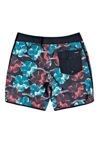 Quiksilver - HIGHLINE UV RAVE - Shorts - black - 1