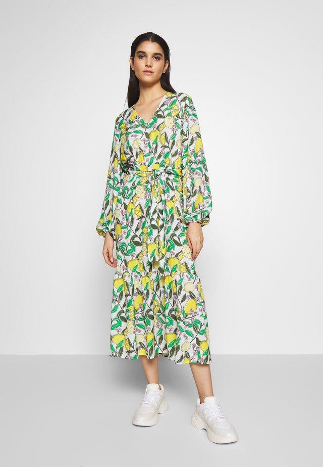 Day dress - multi-coloured/yellow/white