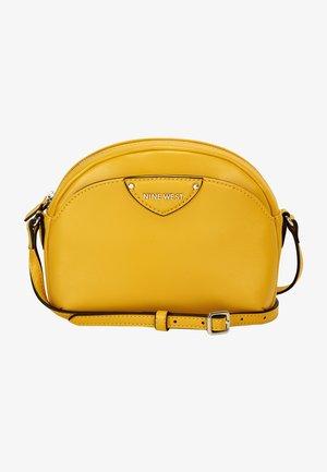 Across body bag - chartreuse
