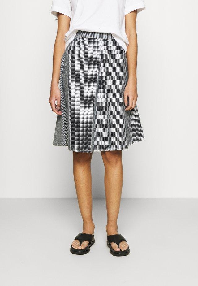 DEEP HICKORY STELLY - Áčková sukně - blue