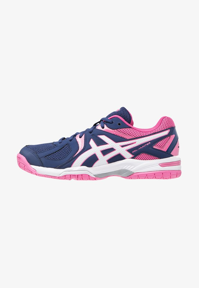 GEL-COURT HUNTER 3 - Indoorskor - indigo blue/white/azalea pink