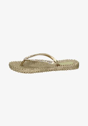 Pool shoes - goud