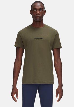 LOGO - T-shirt z nadrukiem - iguana