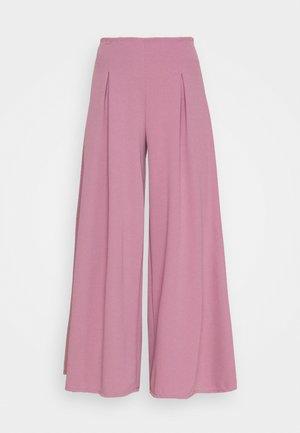 OLLI PLEATED CULLOTTE - Kalhoty - mauve pink