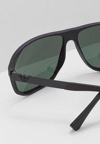 Emporio Armani - Sunglasses - matte black/green - 4