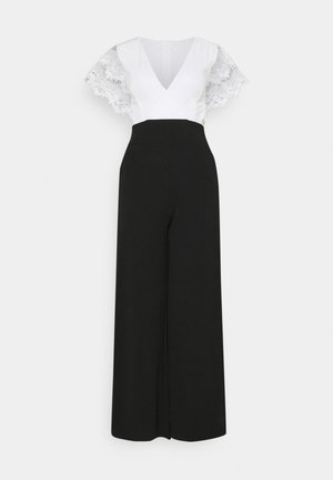 WILLOW - Jumpsuit - black/white