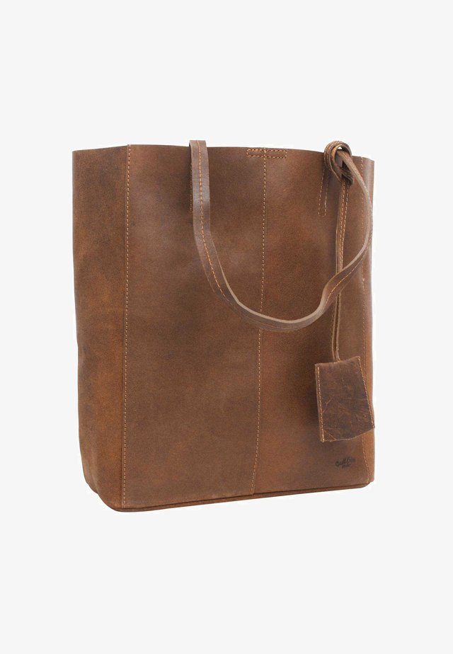CASSIDY - Shopping Bag - braun