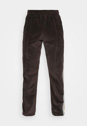 TAPING DETAIL - Teplákové kalhoty - brown