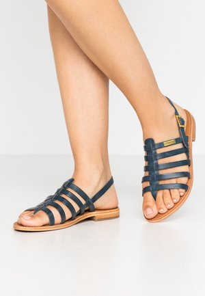 HERIBERI - Sandály s odděleným palcem - marine
