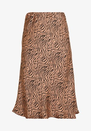 PEARL SKIRT - A-line skirt - raw umber