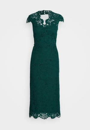 SHIFT DRESS MIDI - Cocktail dress / Party dress - eden green
