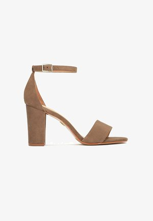 RONSE - High heeled sandals - taupe