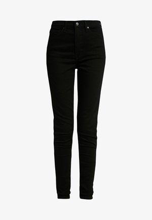 PURE JAMIE CLEAN - Skinny džíny - pure black