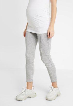 TROUSERS GABRIELLA - Leggings - Trousers - grey melange