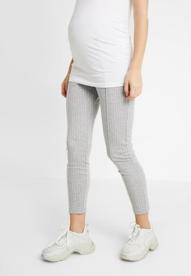 TROUSERS GABRIELLA - Leggings - Trousers - grey melange