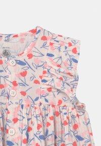 Petit Bateau - ROBE SET - Shirt dress - white/multi-coloured - 3