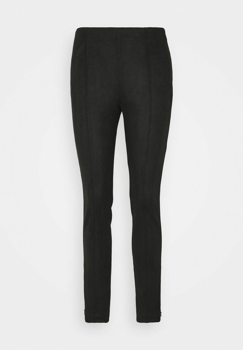 Banana Republic - PINTUCK SKINNY - Trousers - black