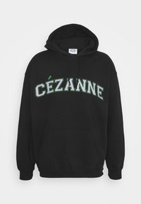 Vintage Supply - CEZANNE ARTS PRINT HOODIE - Felpa - black - 0