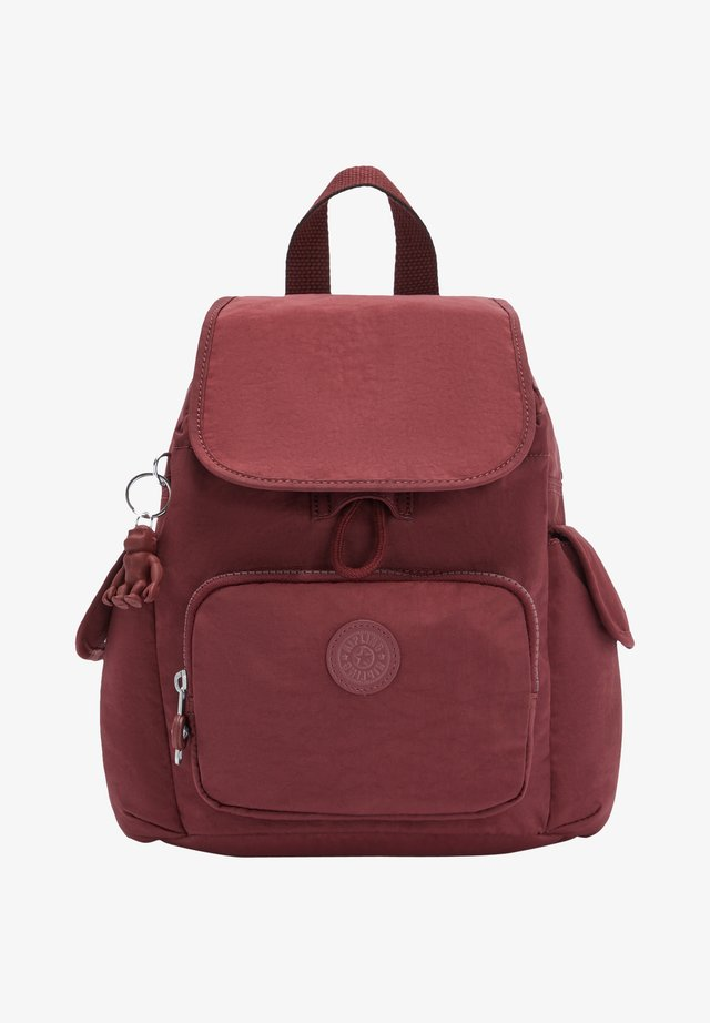 CITY PACK MINI - Sac à dos - intense maroon